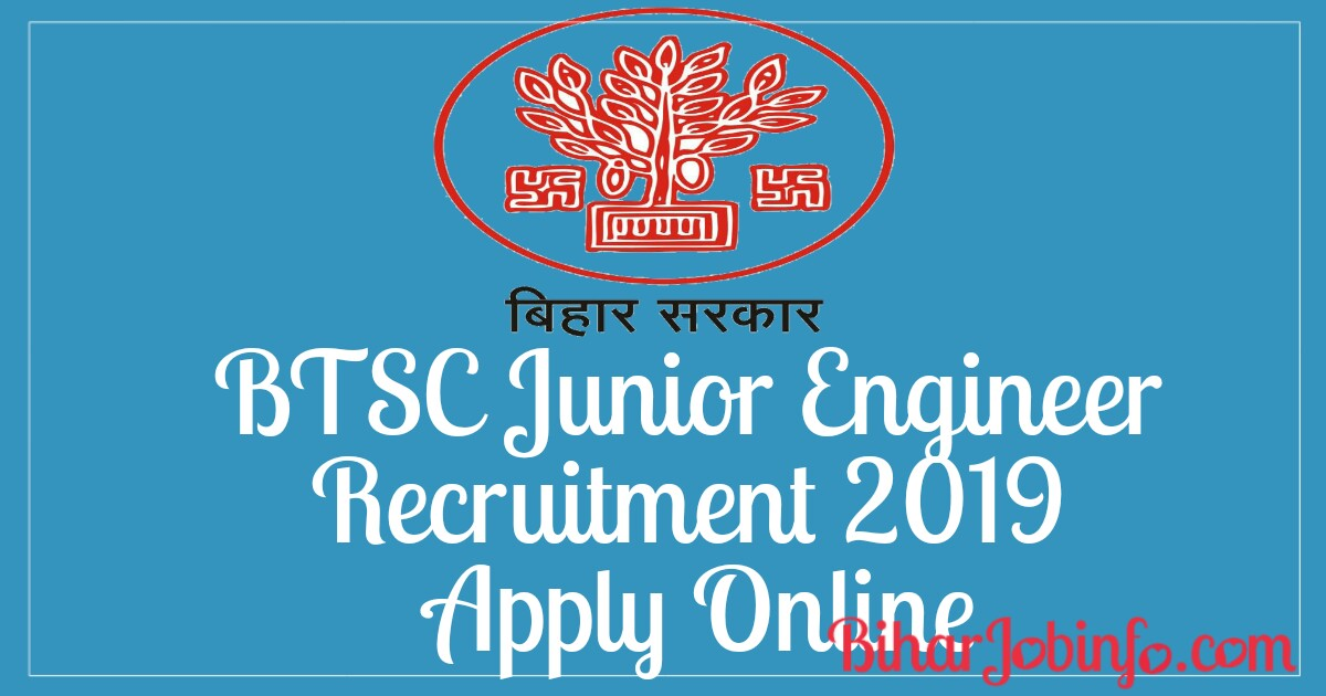 BTSC Junior Engineer Recruitment