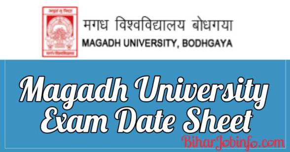Magadh University Exam Date