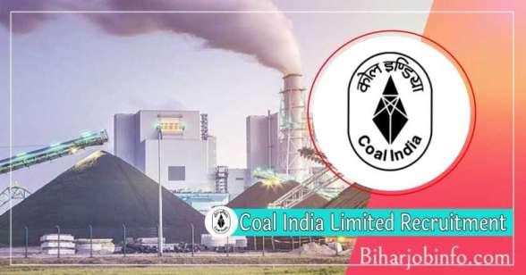 Coal-India Limited Recruitment
