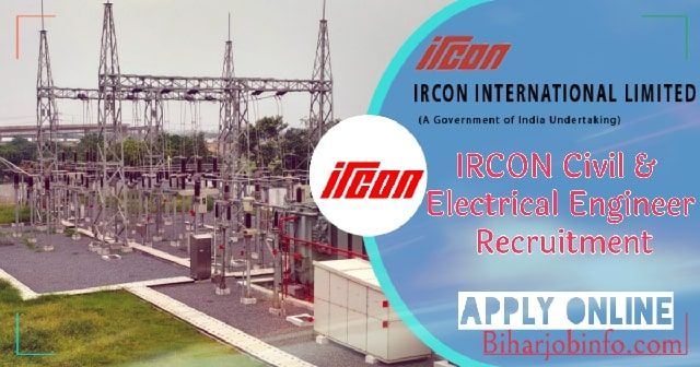 IRCON Civil & Electrical Engineer Recruitment