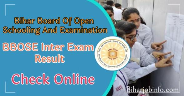 BBOSE Inter Exam Result