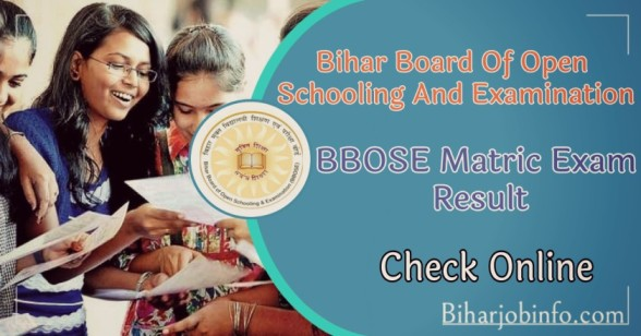 BBOSE Matric Exam Result