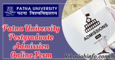 Patna University PG Admission Online Form