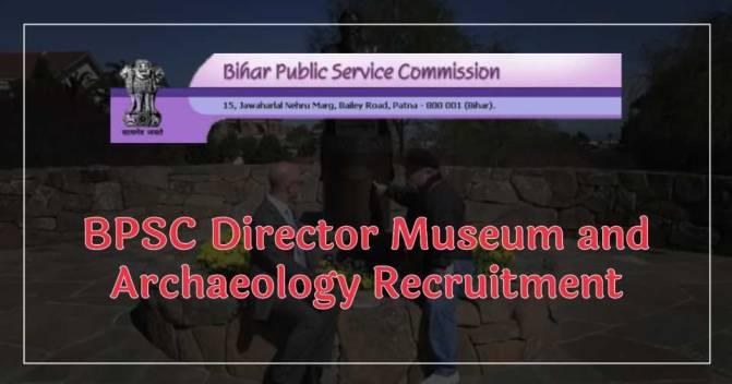 BPSC Director Recruitment