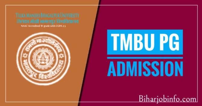 TMBU PG Admission