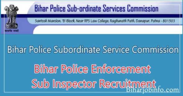 Bihar Police ESI Recruitment
