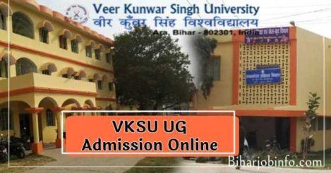 VKSU UG Admission Online Registration